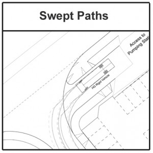 Swept Paths icon